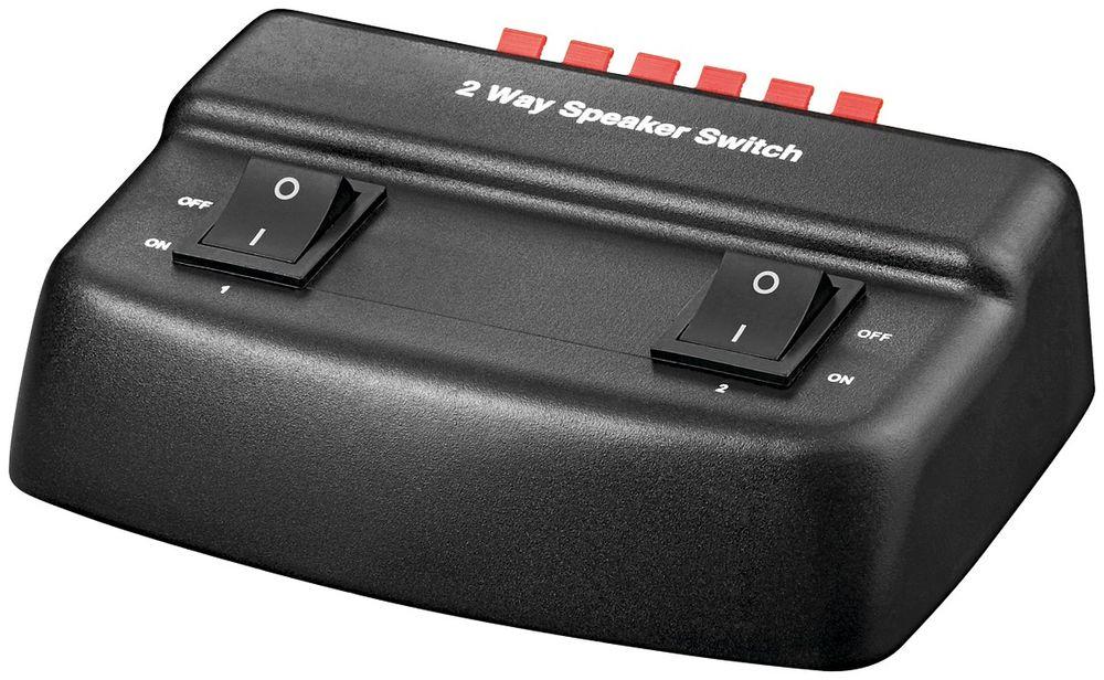 goobay avs  Goobay AVS 12-2 2-FACH LAUTSPRECHER-BOX - Speaker switch box ...