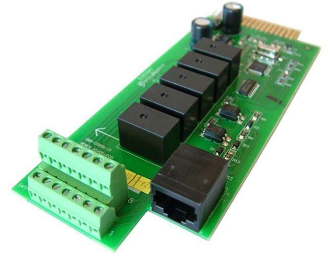 Effekta Z0C/AS400 - zbh MKD / MTD Series Relay Card control