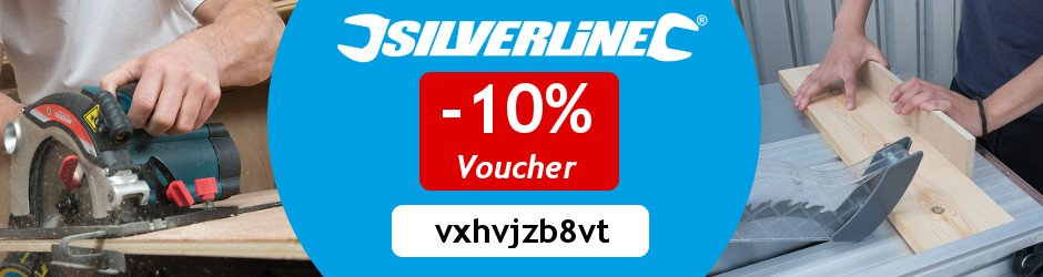 Save 10% on all products from silverline